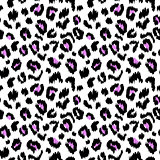 Leopard print vector seamless pattern texture