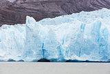 glacier grey in patagonia