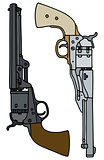 Vintage american handguns