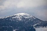 Peak in Austrian Alps view, Klippitztorl area