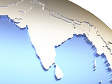 India on metallic Earth