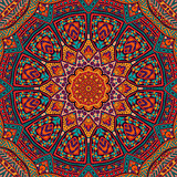 Abstract festive colorful mandala ethnic