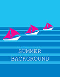 summer background. vector