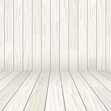vector wooden texture empty room background