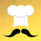 Chef Hat and Mustaches