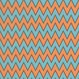Seamless pattern with zig zag.