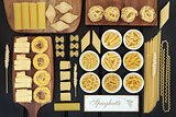 Spaghetti Pasta Dried Food Sampler