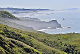 Foggy morning at Bodega Bay, Sonoma County, California's Pacific Coast