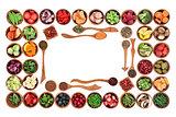 Paleo Diet Food Border