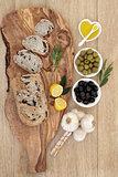 Mediterranean Olive Bread