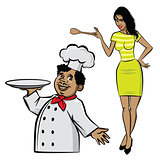 Cook and chef