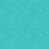 Thin Line Eco Friendly Ecology Blue Seamless Pattern