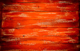 Abstract orange background vintage wood