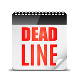 Deadline Word on Calendar