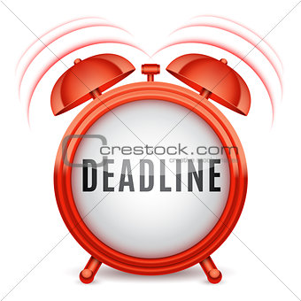 Alarm Clock with Deadline Word