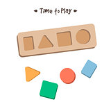 Shape sorter puzzle toy for children