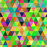Abstract geometric triangle seamless pattern.