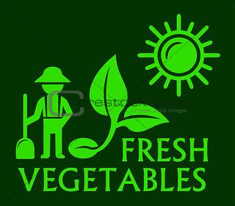 agriculture concept green symbol
