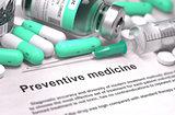 Preventive Medicine - Medical Concept.