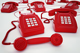 3D rendering telephone