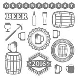 Oktoberfest Set, vector illustration.