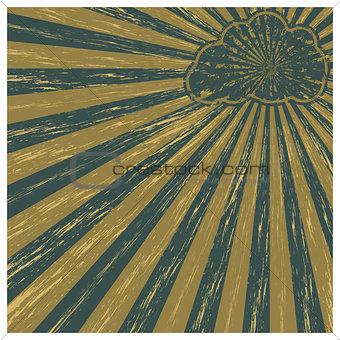 Grunge background, vector illustration.