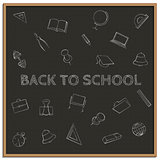 Back to school, vector illustration