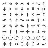 A set of arrows, vector illustration.