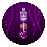 Purple test tube