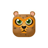 Leopard Square Icon
