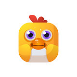 Chicken Square Icon