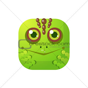 Toad Square Icon