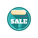 Painting Roll Sale Sticker