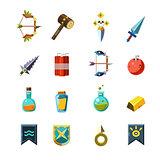 Flash Game Inventory Set
