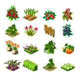 Flash Game Farming Elements Set
