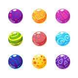 Multicolor Balls Set