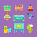Kids Room Objects Collection
