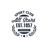 Classic Sport Label All Stars