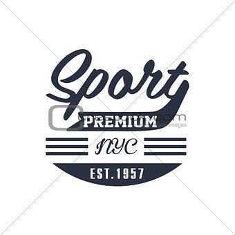Classic NYC Sport Label