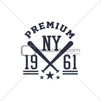 Classic Baseball Label