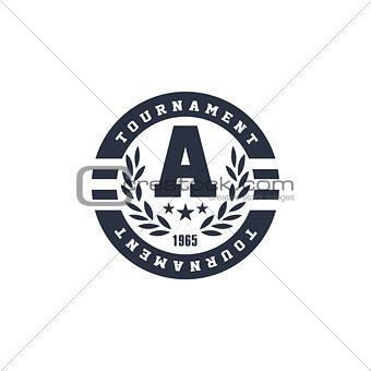 Classic Round Sport Label