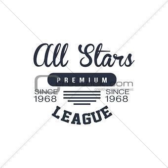 Classic Sports League Label