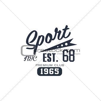Classic Sport Label NYC