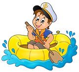 Little sailor theme image 1