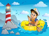 Little sailor theme image 3