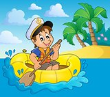 Little sailor theme image 4