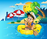 Little sailor theme image 5