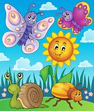 Spring animals and insect theme image 3