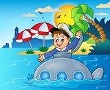 Submarine with sailor theme image 4