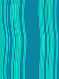 Blue green horizontal abstract wave retro background